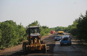 Одесская область за семь месяцев использовала почти половину средств на ремонт дорог