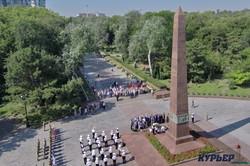 В Одессе отметили 77-ю годовщину начала обороны города во Второй мировой войне (ФОТО, ВИДЕО)