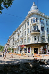 Реконструкция теплосети в центре Одессы вскрывает тайные страницы истории (ФОТО)