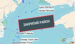 Россия пытается заблокировать Одессу с моря