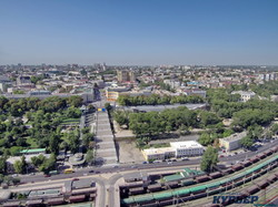 В Одессе показали панорамы Приморского бульвара с высоты птичьего полета (ФОТО)