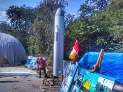"""В одесской обсерватории построили четырехметровую модель ракеты """"Энергия"""" (ФОТО)"""