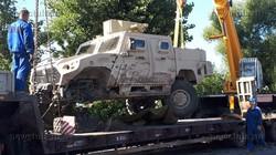 Под Тулой в аварию попал арабский ББМ Nimr Ajban 440A
