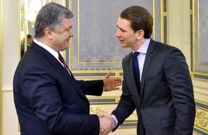 Визит Курца в Украину как явка с повинной