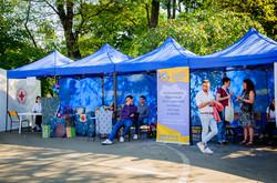 В одесском парке Шевченко проходит фестиваль Здоровья (ФОТО)