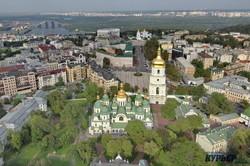 Киев с высоты птичьего полета
