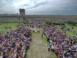 Болгары со всей Украины собрались в средневековых крепостных стенах на собор (ФОТО, ВИДЕО)