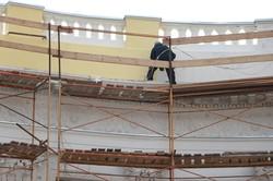В Одессе реставрируют здание, из которого прыгал Котовский (ФОТО)