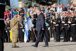 Петр Порошенко на своей родине открыл мемориал защитникам Украины (ФОТО)
