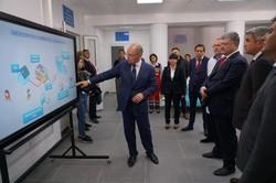 Во время визита в Болград Президент открыл отделение экстренной медпомощи с телемедициной (ФОТО)