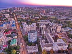 Как над осенней Одессой заходит солнце (ФОТО, ВИДЕО)