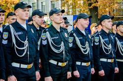 По Одессе маршировали будущие полицейские (ФОТО)