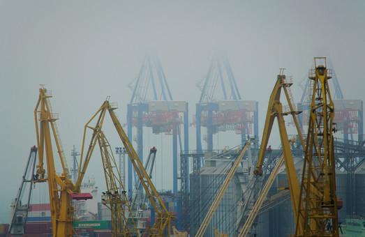 Одесса погрузилась в осенний туман (ФОТО)