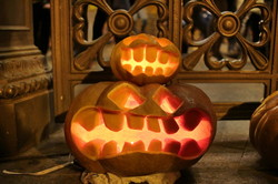 Ночь огненных тыкв в Одессе прошла на Хэллоуин (ФОТО, ВИДЕО)
