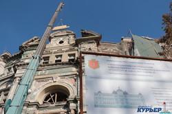 Дом Руссова в Одессе: начатая реставрация уже не остановится (ФОТО, ВИДЕО)
