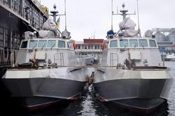 В Одессе украинский военный флот пополнился двумя новыми боевыми единицами