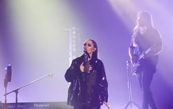 В Одессе выступила украинская рок-группа The Hardkiss (ФОТО)
