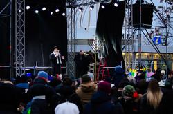 В Одессе отметили начало Хануки (ФОТО)