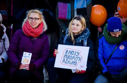 В Одессе прошла международная акция против насилия (ФОТО)