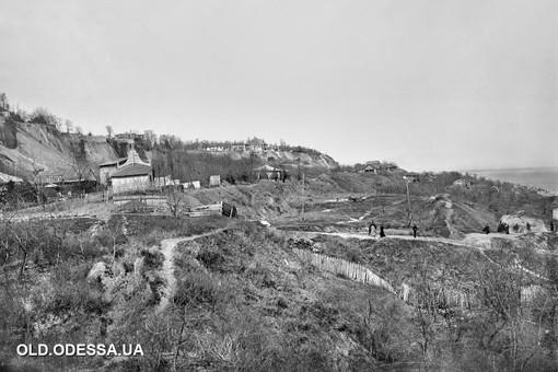 Одесса 100 лет назад: как оползень уничтожал район Большого Фонтана