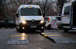В Одессе показали новые дорожные весовые комплексы (ФОТО)