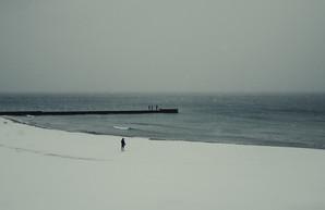 Как выглядит одесская Аркадия в снегу (ФОТО)