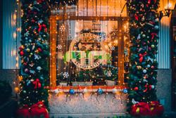 В Одессе украсили витрины к Новому Году (ФОТО)