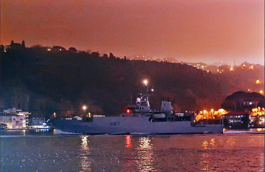 Британский разведчик HMS Echo взял курс на Одессу