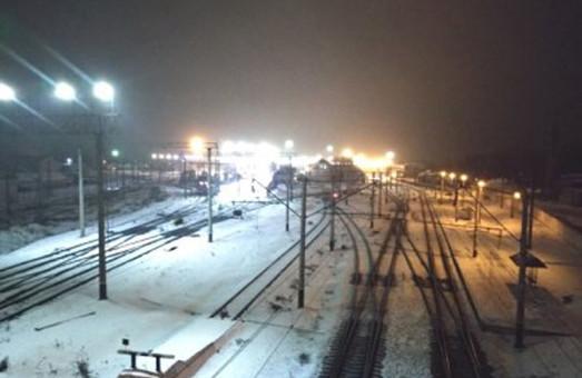 Одесская железная дорога внедряет светодиодное освещение