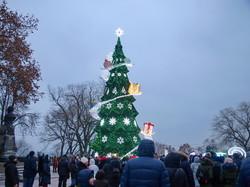 В Одессе зажгли главную городскую елку (ФОТО)