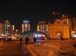 Красивый новогодний Киев (ФОТО)
