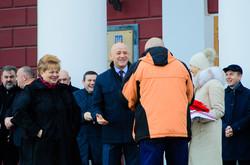 В Одессе презентовали автомобили неотложной помощи (ФОТО)