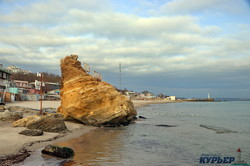 Город у моря: одесское побережье в канун Нового года (ФОТО, ВИДЕО)