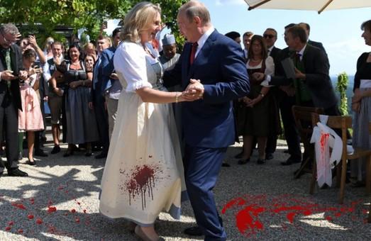 Подруга Путина, Кнайсль, пошла в атаку на Украину