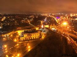 Вечерняя Одесса светится огнями новогодних украшений (ФОТО, ВИДЕО)