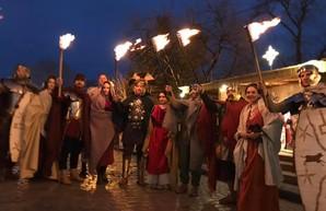 Римляне прошлись по Дерибасовской (ФОТО)