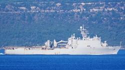 Ротация в Черном море: проводили разведчик ВМС Великобритании, встречаем американский десантный корабль