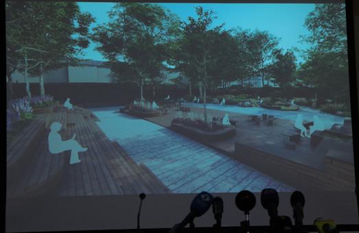 Обсуждение Летнего театра в Горсаду: показан еще один проект благоустройства (ФОТО)