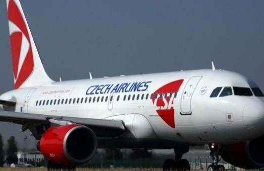 Летом 2019 года самолеты «Czech Airlines» будут летать из Одессы в Прагу трижды в неделю