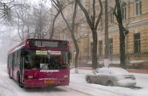 Непогода снова создает проблемы на дорогах Одесской области