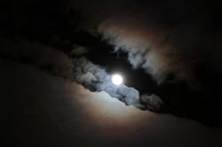Одесситы не смогут увидеть невероятное лунное затмение из-за непогоды (ФОТО)