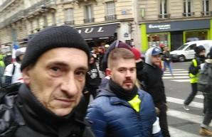 """В рядах французских """"желтых жилетов"""" всплыл очередной """"освободитель"""" Донбасса"""
