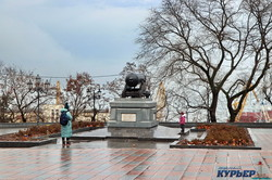 Январская Одесса в тумане (ФОТО)
