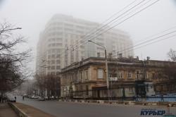 Одесса в тумане