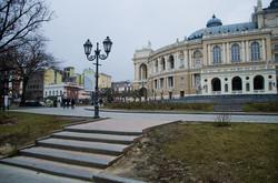 Безлюдный центр Одессы (ФОТО)