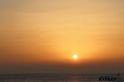 В Одессу пришла весна: восход солнца за 50 секунд (ФОТО, ВИДЕО)