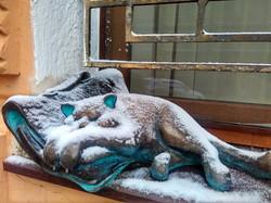 Одесса под февральским снегом (ФОТО)