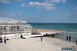 Весна в Одессе: море, люди, коты и чайки (ФОТО)