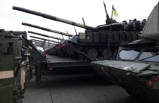 ВСУ была передана внушительная партия техники и ударные БПЛА Bayraktar TB2