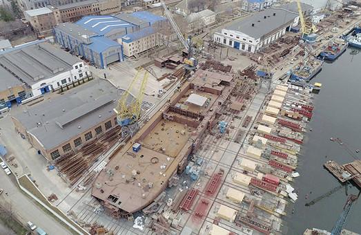 Крупнейшее судно в современной истории Украины и про Littoral Strike Ship